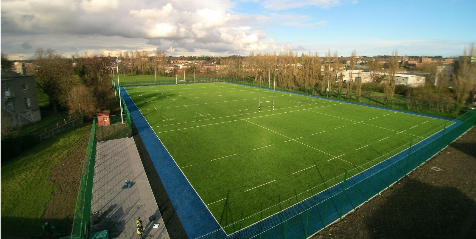Belvedere College - Sports pitch